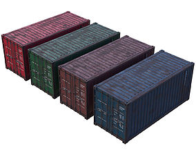 Cargo Container 2A 3D model