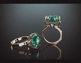 3D printable model Ring octagon