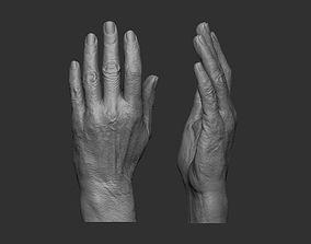 3D print model Elderly Female Hand