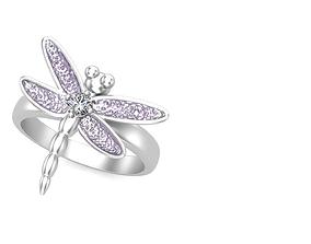 3D printable model Dragonfly Design