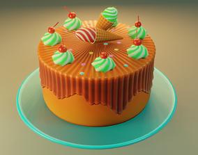 3D asset Cake gradient