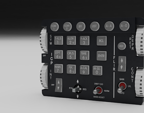 3D model F16 Integrated Control Panle