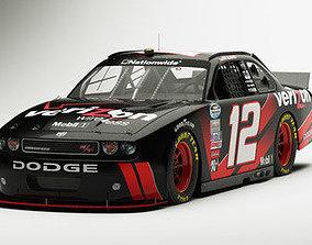 3D NASCAR Dodge Challenger 2011