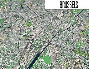 Brussels 3D model