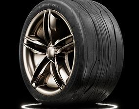Vulture Concept Tire 3D model