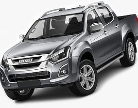 3D model pick-up Isuzu D-max 2017
