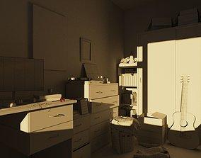 teenagers Teenagers Bedroom 3D
