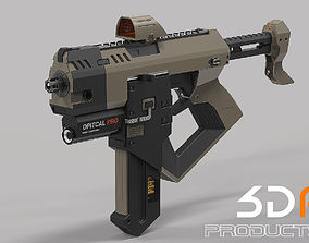 3D Machine Gun assault