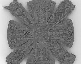 Slavic cress - amulet 3D printable model