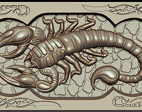 Backgammon scorpions 3D printable model