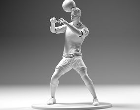 3D printable model Footballer 02 Headstrike 03 Stl