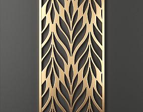 3D model Decorative panel 58