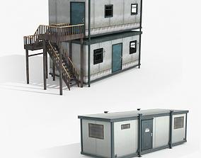 Two Portacabin Sites 3D asset