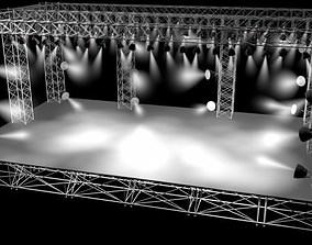 3D model Concert Stage