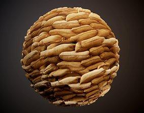 Sandbags Seamless PBR Texture 3D model