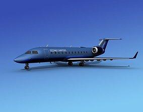 Canadair CRJ100 Oceanis 3D model