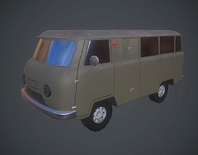 UAZ 452 3D asset