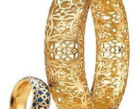 Paloma Picasso and tiffany bracelet 3D print model