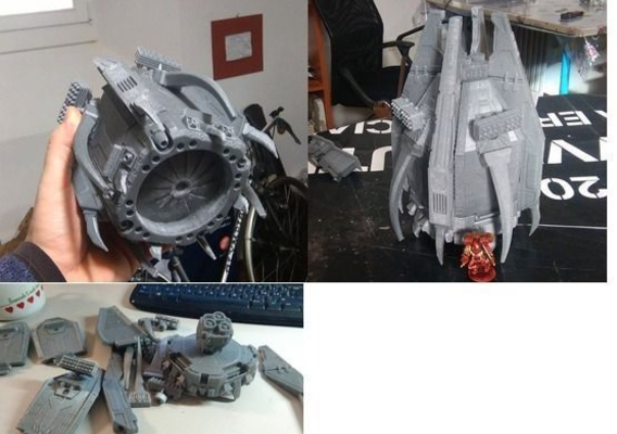 Giant Drop Pod for space marine legions