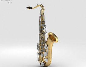 models 3D model Saxophone Yamaha YTS-26