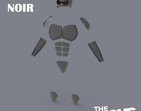 Black Noir The BOYS Armor for 3D Print Files