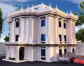 3D model Ancient Mansion Villa Classic 3