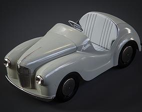 Austin J 40 pedal car for kids 3D model