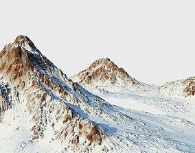 3D model Snow mountain Pack