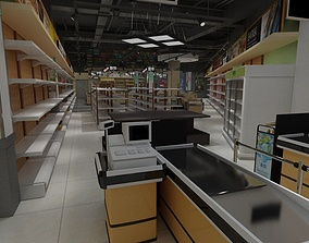 staples Supermarket 3D model