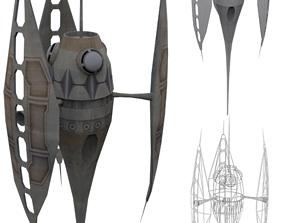 Dyn Shield Emitter 3D asset