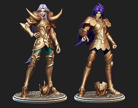 Saint Seiya Pack 2 - Saga Gemini and Mu Aries 3D model
