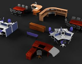 Office Furniture 2 furniture workstation 3D