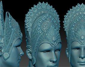 3D printable model Krishna crown