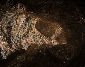 3D model Cave Tunnel