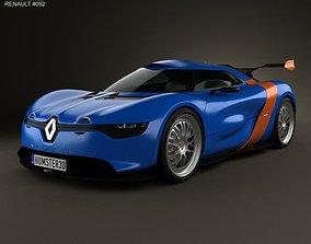 3D Renault Alpine A110-50 2012