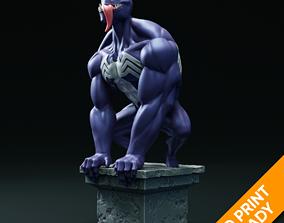 Venom statue 3D print man