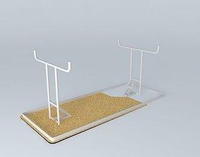 3D 6' Folding Table