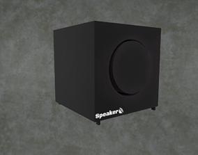 3D model VR / AR ready Speaker
