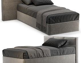 3D model SINGLE BED 21