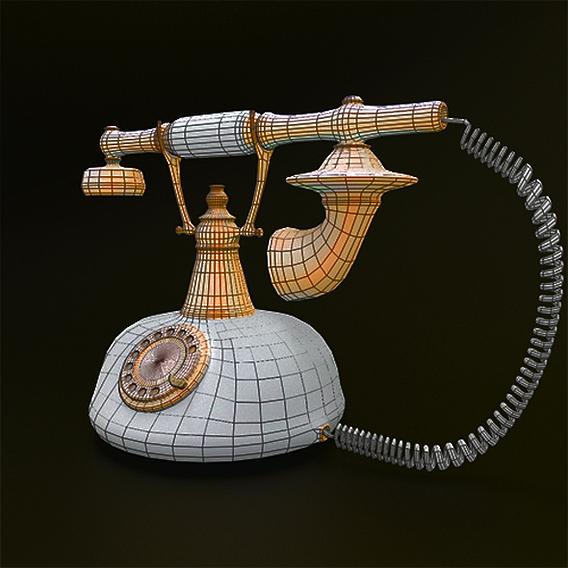 Rotary Retro telephone