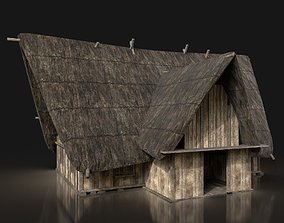 3D model Next Gen AAA THATCHED FANTASY MEDIEVAL 3