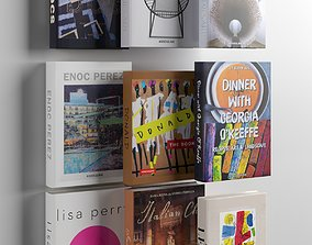3D color Books 04
