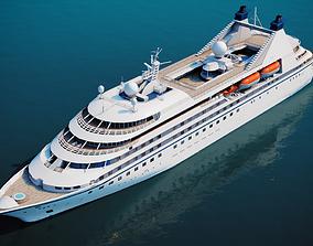 Luxury Cruiseship 3D asset