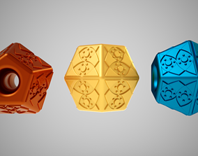 Pentagon Bead 3D print model