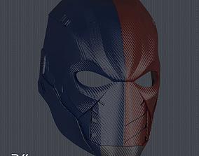 3D printable model Deathstroke Titans Season 2 Helmet V1 2