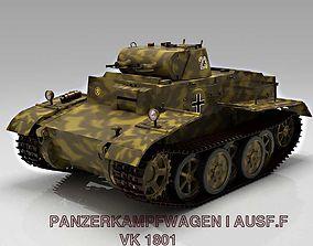 3D model Panzer I Ausf F VK1801