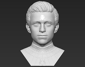 Spider-Man Tom Holland bust 3D printing ready stl obj 1