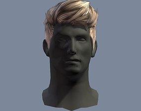 hair style 1a 3D asset