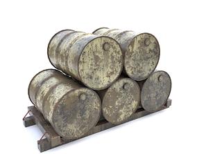 other Metal barrels 3D model