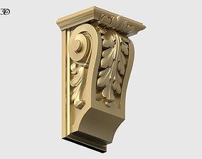 Carved Bracket 3D printable model